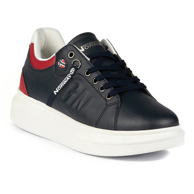 GEOGRAPHICAL NORWAY - GNM19005-12 - Sneakers homme navy