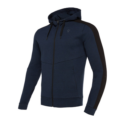 MACRON - ATHLEISURE FBJ ESBJERG - Sweatshirt - Men's - deep blue marl/black