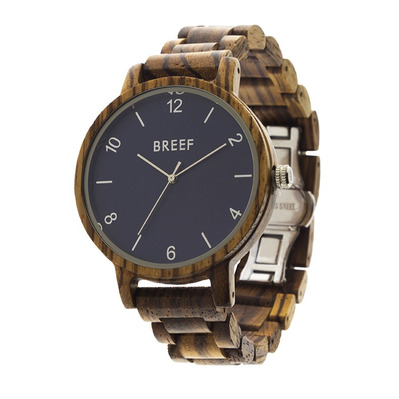 BREEF - CLASSIC ZE - Watch - blue/brown