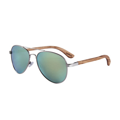 FELER - AVIATOR - Polarised Sunglasses - silver/gold