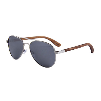 FELER - AVIATOR - Polarised Sunglasses - silver/silver