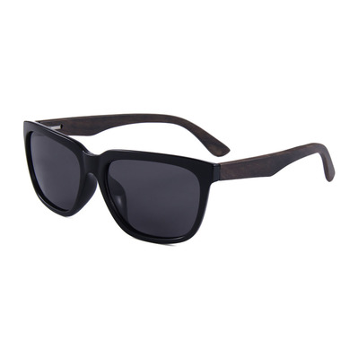 FELER - CHARLES - Polarised Sunglasses - black/black smoke