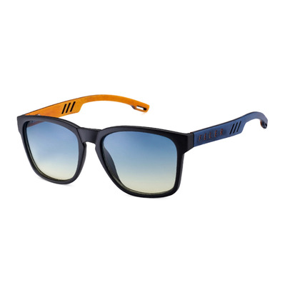 FELER - CLIFF LAYERED - Polarised Sunglasses - black/blue