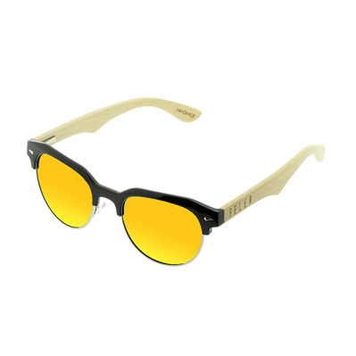 FELER - FOREST HIBRID 2 - Polarised Sunglasses - black/yellow