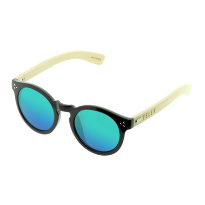 FELER - FOREST HIBRID 3 - Sunglasses - black/green mirror