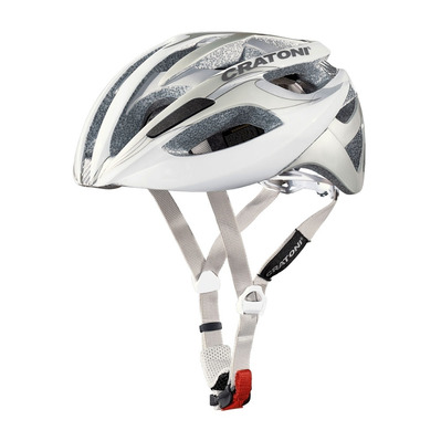 CRATONI - C-BREEZE 2016 - Casco carretera white/silver glossy