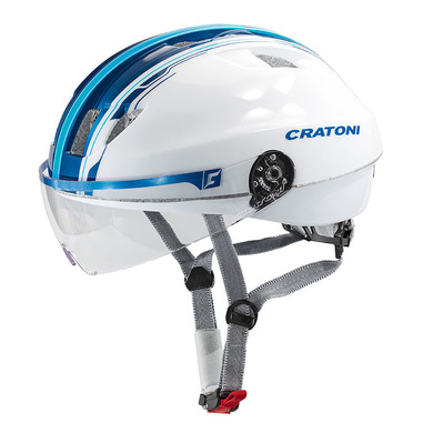 CRATONI - EVOLUTION LIGHT 2017 - Casco urbano white/blue glossy