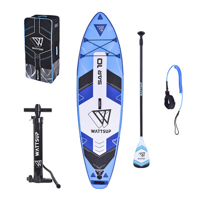 WATTSUP - SAR 10'2020 - Inflatable SUP Board - blue + Accessories