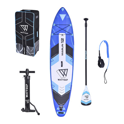 WATTSUP - MARLIN 12'2020 - Inflatable SUP Board - blue + Accessories