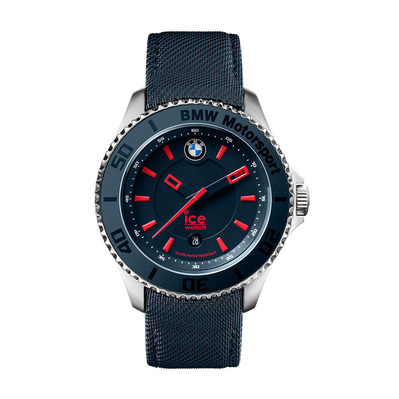 ICE WATCH - BMW MOTORSPORT STEEL 3H MEDIUM - Quartz Watch - blue/red