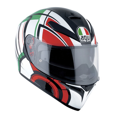 AGV - K-3 SV MULTI - Full Face Helmet - white/italy