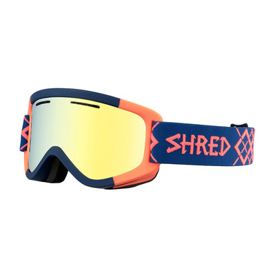 SHRED - WONDERFY - Ski Goggles - bigshow navy/rust/cbl hero