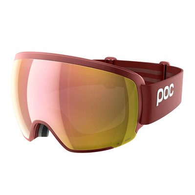 POC - ORB CLARITY - Ski Goggles - lactose red/spektris rose gold
