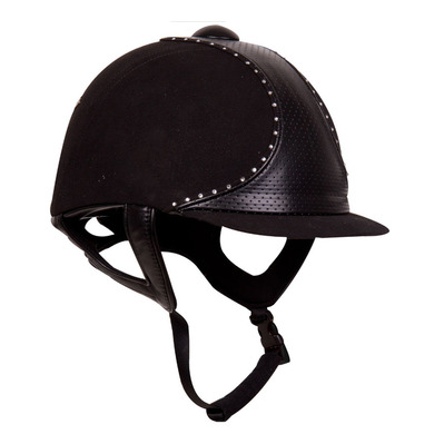 IMPERIAL RIDING - STARLIGHT - Riding Hat - black/crystalstone