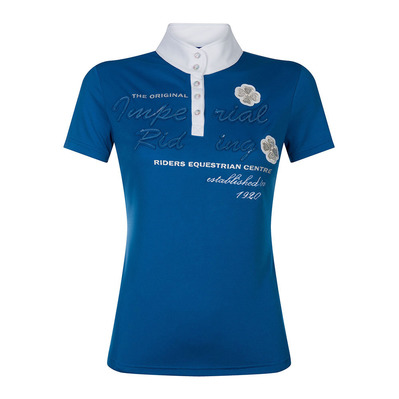 IMPERIAL RIDING - DIADEEM - Competition Polo - Women's - blue