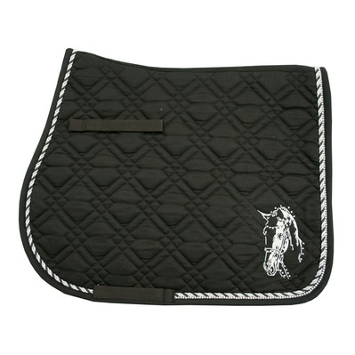 IMPERIAL RIDING - PISA - GP Saddle Pad - black/white