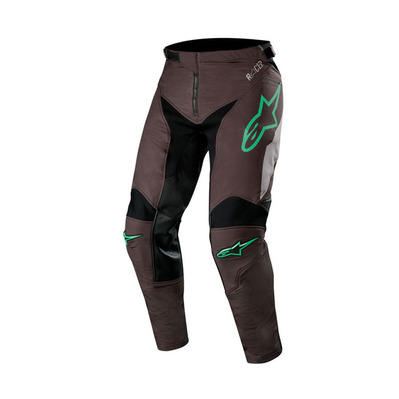 alpinestars - RACER TECH - Pants - Men's - black/mid grey/teal