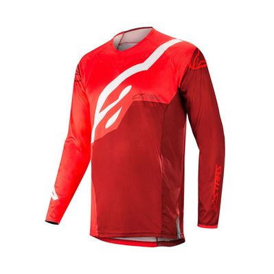 alpinestars - TECHSTAR FACTORY - Maillot Homme red burgundy