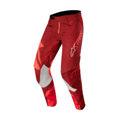 alpinestars - TECHSTAR FACTORY - Pants - Men's - red burgundy