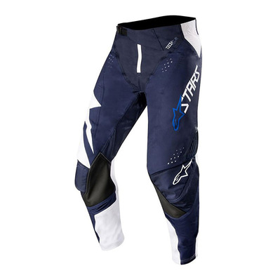alpinestars - TECHSTAR FACTORY - Pants - Men's - white/dark navy