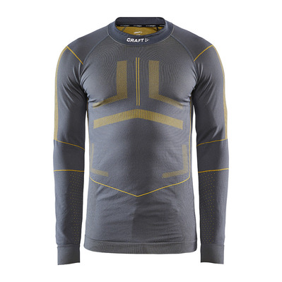 CRAFT - ACTIVE INTENSITY - Base Layer - Men's - asphalt/buzz