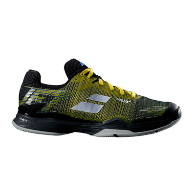 BABOLAT - JET MATCH II ALL COURT 2019 - Zapatillas tenis hombre dark yellow/black