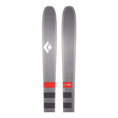 BLACK DIAMOND - HELIO 95 - Touring Skis - grey/black/white/red