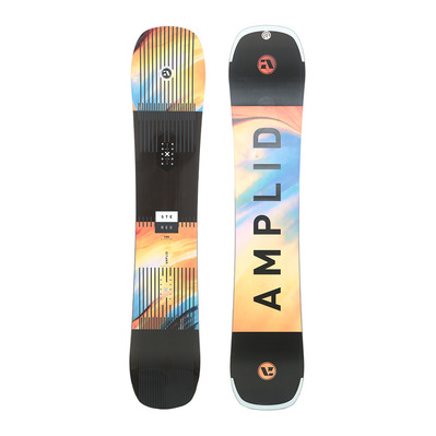 AMPLID - STEREO 18/19 - All Mountain/Freestyle Snowboard - melange