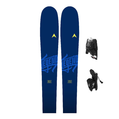 DYNASTAR - LEGEND 84 - All Mountain Skis - Men's + Bindings - NX 12 GW B90 black