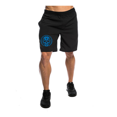 NORTHERN SPIRIT - BLUE SKULL - Short hombre black