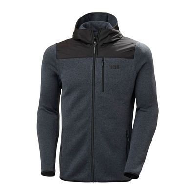 HELLY HANSEN - VARDE HOODED - Polar hombre slate
