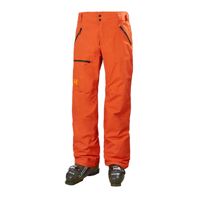 HELLY HANSEN - SOGN CARGO - Pantalon ski Homme patrol orange