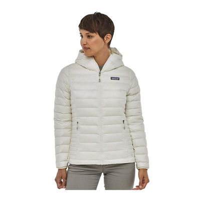 PATAGONIA - DOWN SWEATER HOODY - Doudoune Femme birch white