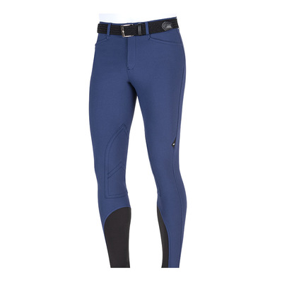 EQUILINE - PANTALONE UOMO TOPPA GINOCCHIO Homme METAL BLUE