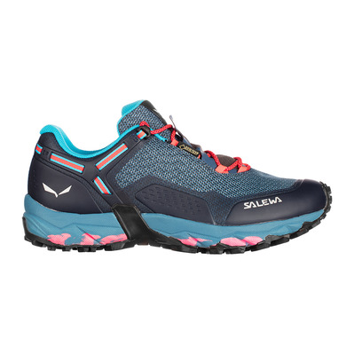 SALEWA - SPEED BEAT GTX - Scarpe escursionismo Donna patriot blue/fluo coral