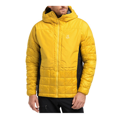 HAGLOFS - NORDIC MIMIC - Anorak hombre pumpkin yellow/true black