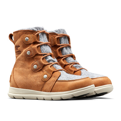 SOREL - EXPLORER JOAN-Felt-Camel Brown Femme Camel Brown