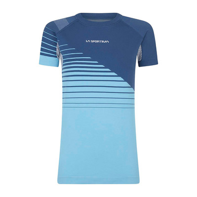 LA SPORTIVA - Escape T-Shirt W Femme Opal/Pacific Blue
