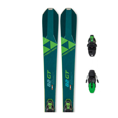 FISCHER - RC ONE 82 GT TPR + RSW 11 PR - Pack skis piste + Fixations
