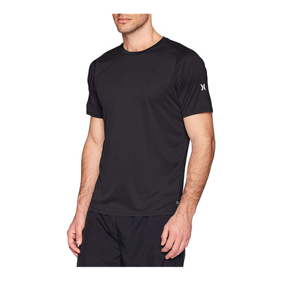 HURLEY - ICON QUICK DRY SS - Lycra hombre black
