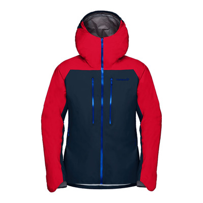 NORRONA - LYNGEN GTX - Veste Homme true red/indigo night