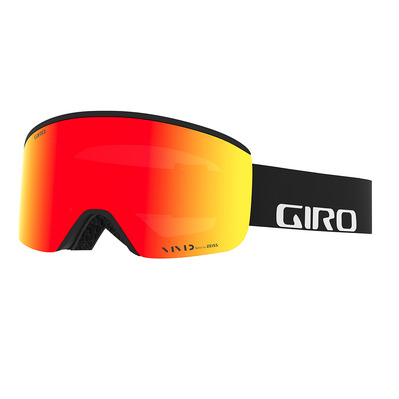 GIRO - AXIS - Masque ski black wordmark/vivid ember/viv inf