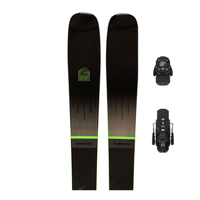 ARMADA - DECLIVITY 92 TI + N WARDEN 13 - Pack skis piste + Fixations Homme