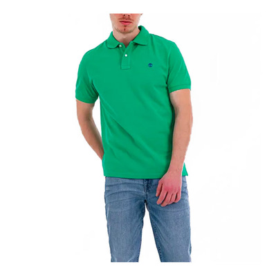 TIMBERLAND - TB0A1YQVX861 - Polo - Men's - deep mint