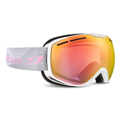 JULBO - FUSION - Masque de ski blanc/flash rouge