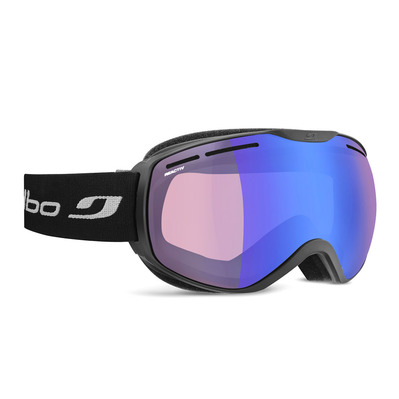 JULBO - FUSION - Masque ski photochromique noir/flash bleu