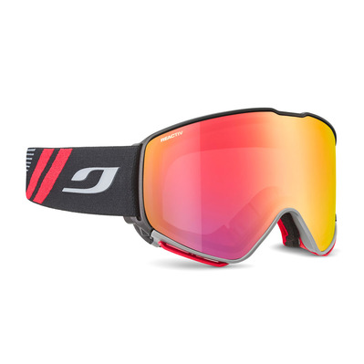 JULBO - QUICKSHIFT - Masque de ski noir/flash rouge