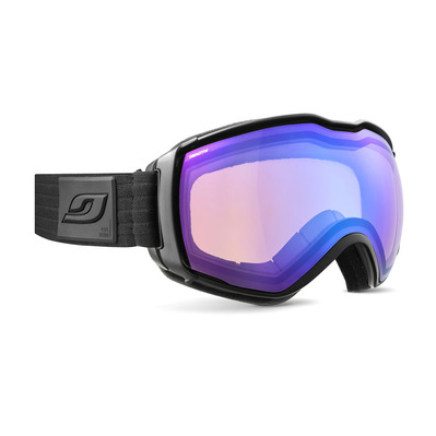 JULBO - AEROSPACE OTG - Masque de ski noir/flash bleu
