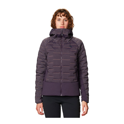MOUNTAIN HARDWEAR - STRETCHDOWN HYBRID - Veste Femme blurple