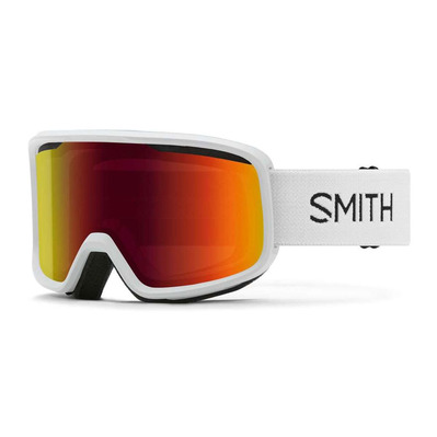 SMITH - AS FRONTIER - Masque white - red slx m